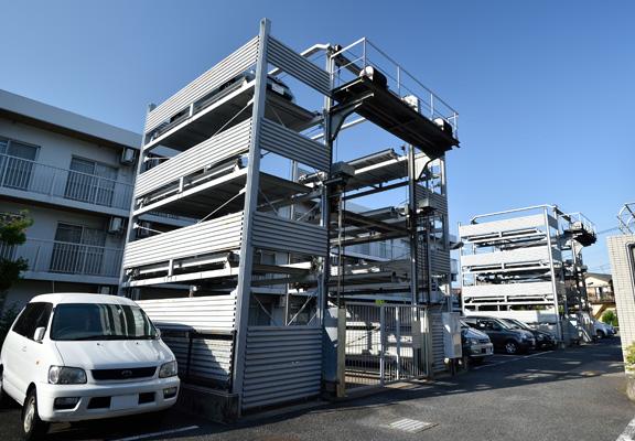 機械式駐車場の解体