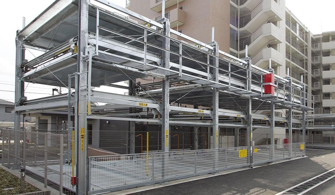 機械式駐車場平面化工事